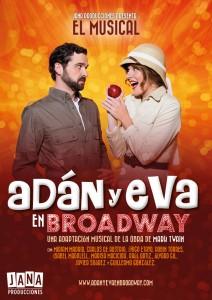Adán y Eva en Broadway. Jana Producciones