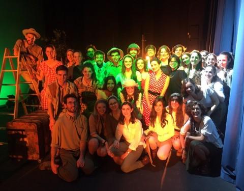 Pamplona ¡Lleno absoluto de «Adán y Eva en Broadway»!